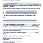 temporary power of attorney template - free printable power of attorney forms pdf templates