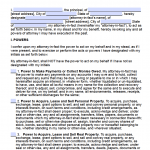 Generic Power Of Attorney Forms