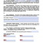 Free Printable Power of Attorney Forms | PDF Templates