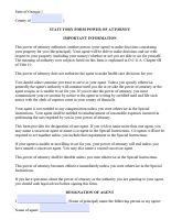 power of attorney form ga  Free Georgia Power Of Attorney Forms | PDF Templates