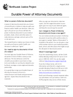 photograph about Free Printable Power of Attorney Form Washington State referred to as No cost Washington Electrical power Of Lawyer Styles PDF Templates