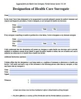 Free Florida Of Attorney Forms