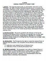 Free Illinois Power Of Attorney Forms | PDF Templates