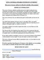 power of attorney form iowa  Free Iowa Power Of Attorney Forms | PDF Templates