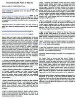 Free Missouri Power Of Attorney Forms | PDF Templates