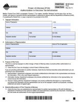 Free Montana Power Of Attorney Forms | PDF Templates