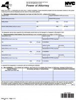 fillable power of attorney form ny  Free New York Power Of Attorney Forms | PDF Templates