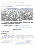 picture regarding Free Printable Durable Power of Attorney Form Texas identify Cost-free Texas Electric power Of Lawyer Styles PDF Templates