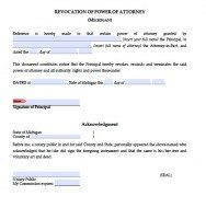 Free Michigan Power Of Attorney Forms | PDF Templates