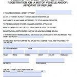 Register/Title Vehicle