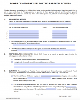 Free Arizona Power Of Attorney Forms | PDF Templates