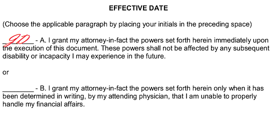 Free Printable Durable Power of Attorney Forms