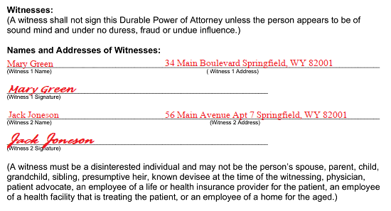 Free Printable Medical Health Care Power Of Attorney Forms