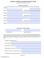 power of attorney form wisconsin  Free Wisconsin Power Of Attorney Forms | PDF Templates