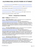power of attorney form 2019  Free California Power Of Attorney Forms | PDF Templates